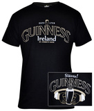 Guinness - Black Claddagh Shirts