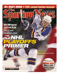 St. Louis Blues Captain Chris Pronger - April 17, 2000 Prints