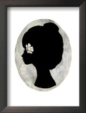 Flowers in your head Framed Giclee Print by Charmaine Olivia