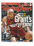 Detroit Pistons' Grant Hill - March 6, 2000 Posters
