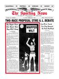 Philadelphia 76ers Wilt Chamberlain - February 26, 1966 Prints