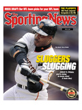 San Francisco Giants OF Barry Bonds - April 23, 2001 Poster