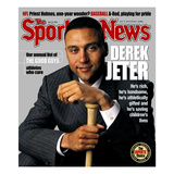New York Yankees SS Derek Jeter - July 22, 2002 Print