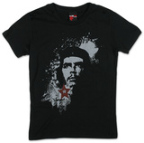 Juniors: Che Guevara - Heroic Che Distress &#39;ECO&#39; T-shirts
