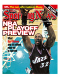 Utah Jazz PF Karl Malone - May 10, 1999 Prints