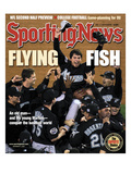 Florida Marlins P Josh Beckett - World Series Champions - November 3, 2003 Premium Photographic Print