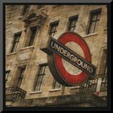 Underground Mounted Print by John Golden
