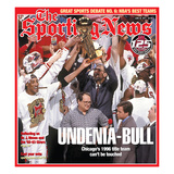1996 NBA Champion Chicago Bulls - SN125 - June 20, 2011 Print