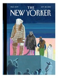 The New Yorker Cover - September 20, 2010 Premium Giclee Print by Bruce McCall