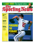 Atlanta Braves Pitcher John Smoltz - August 31, 1992 Print
