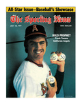 California Angels Pitcher Frank Tanana - July 23, 1977 Poster