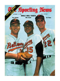 Baltimore Orioles Dave McNally, Mike Cuellar and Jim Palmer - October 17, 1970 Foto