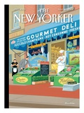 Manhattan Mirage - The New Yorker Cover, March 22, 2004 Regular Giclee Print by Bruce McCall