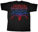 Star Wars - Neon X-Wing T-Shirt