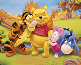 Winnie-Friends Affischer