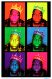 Notorious BIG - Pop Art King Poster