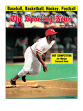 Cincinnati Reds 2B Joe Morgan - July 5, 1975 Premium Photographic Print