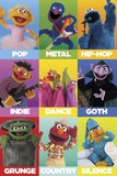 Sesame Street - Music Posters