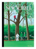 The New Yorker Cover - April 11, 2011 Premium Giclee Print by Bruce McCall