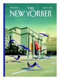 Easter Morning - The New Yorker Cover, April 5, 1999 Regular Giclee Print by Bruce McCall