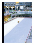The New Yorker Cover - February 3, 2003 Premium Giclee Print by Bruce McCall