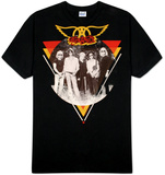 Aerosmith - Triangle / Circle Photo Shirt