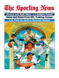 1984 MLB HOF Inductees - Drysdale, Reese, Aparicio, Killabrew - August 6, 1984 Poster