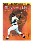 Boston Red Sox P Ferguson Jenkins - April 10, 1976 Print
