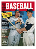 New York's Mickey Mantle and Brooklyn's Duke Snider - 1956 Street and Smith's Poster