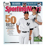 New York Yankees Alex Rodriguez and Mark Teixeira - May 10, 2010 Prints