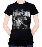 Juniors: The Bride of Frankenstein - We Belong Dead T-shirts