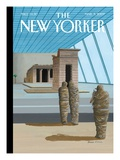 Say Cheese - The New Yorker Cover, March 5, 2007 Regular Giclee Print by Bruce McCall