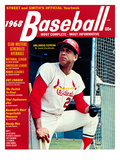 St. Louis Cardinals' Orlando Cepeda - 1968 Street and Smith's Photo