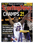 Florida Gators' Al Horford - National Champions - April 9, 2007 Prints