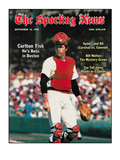 Red Sox C Carlton Fisk - September 16, 1978 Prints