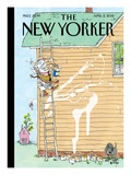 Rite of Spring - The New Yorker Cover, April 2, 2012 Regular Giclee Print by George Booth
