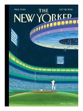 Sky Box - The New Yorker Cover, October 22, 2001 Premium Giclee Print by Bruce McCall