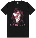 Madonna - MDNA Black Graphic Photo T-shirts