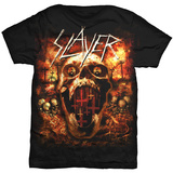 Slayer - Hell Skull Shirts