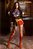 Megan Fox Superfox Supergirl/Superman Movie Poster Print Print