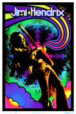 Jimi Hendrix - Guitar Solo Prints
