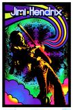 Jimi Hendrix - Guitar Solo Prints