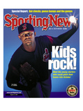 Cleveland Indians Pitcher C.C. Sabathia - August 27, 2001 Prints
