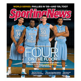 North Carolina Tar Heels Basketball - November 10, 2008 Poster