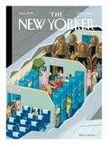 New Ways to Travel - The New Yorker Cover, May 8, 2006 Regular Giclee Print by Bruce McCall