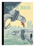 The New Yorker Cover - May 8, 2000 Premium Giclee Print by Bruce McCall