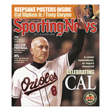 Baltimore Orioles 3B Cal Ripken Jr. - October 15, 2001 Photo