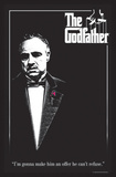 The Godfather - Red Rose Posters