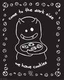 D&G Dark Side-Cookies Prints