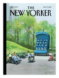 The New Yorker Cover - May 9, 2011 Premium Giclee Print by Bruce McCall